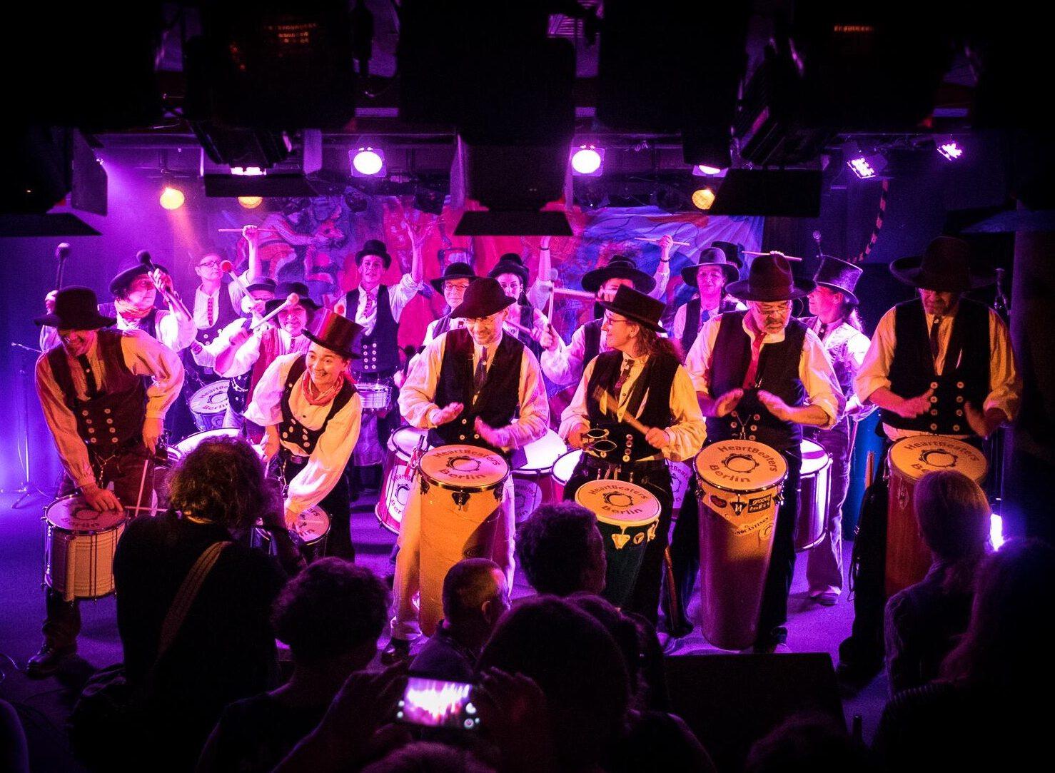 Heartbeaters Berlin Trommelunterricht